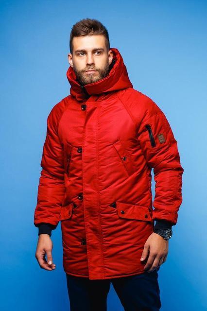 Парка куртка Red and Dog Onoma Red (осінь-весна)  продажа 21e3c43f801c0