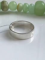 Серебряное обручальное кольцо Американка 2