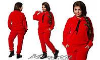 Повседневный спортивный прогулочный велюровый костюм  Minova в Украине России (42-50)