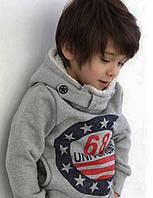 Детская толстовка с капюшоном для мальчиков