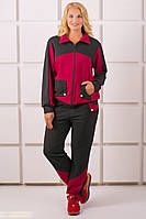 Спортивный костюм Бонита (бордовый), фото 1