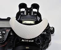 Насадка-рассеиватель для встроенных вспышек к камерам (3 цвета)