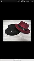 Шляпа Шанель Канотье Шапка Стильная Капелюх Головной убор