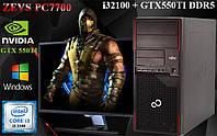 Народная сборка! Игровой ПК ZEVS PC7700 i3 2100 + GTX 650 + Игры