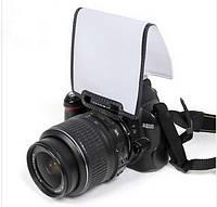 Насадка-рассеиватель для встроенных вспышек к камерам