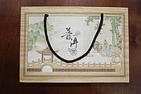 """Подарочный Шэн (шен) Пуэр(пуер) """"Тибетский"""" от бренда Ся Гуань. Вес 250гр. Выдержка более 12 лет."""