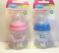Бутылочка для кормления с антиколиковой соской Premium 200 мл Lindo