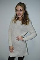 Женская вязанная кофта туника  Italy, фото 1