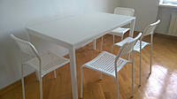Стол IKEA MELLTORP (190.117.77) Кресла IKEA ADDE (102.191.78)