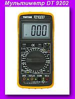 Мультиметр DT 9202,Мультиметр для измерения тока, напряжения