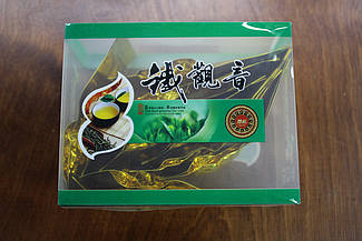 Женьшеневый улун (оолонг) подарочная коробочка 50 грамм, китайский зеленый чай