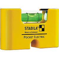 Уровень міні Stabila Type Pocket Electric магнітний 70 х 20 х 40 мм 17775