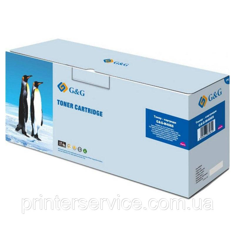 Картридж аналог CLT-M406S для Samsung CLP-360/365 CLX-3300/3305 SL-C460 (G&G NT-M406S)