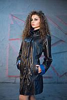 Плащ кожаный Oscar Fur 497 Черный, фото 1