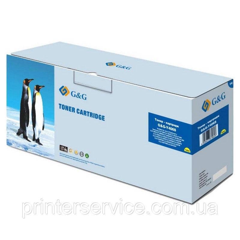 Картридж аналог CLT-Y406S для Samsung CLP-360/365 CLX-3300/3305 SL-C460 (G&G NT-Y406S)