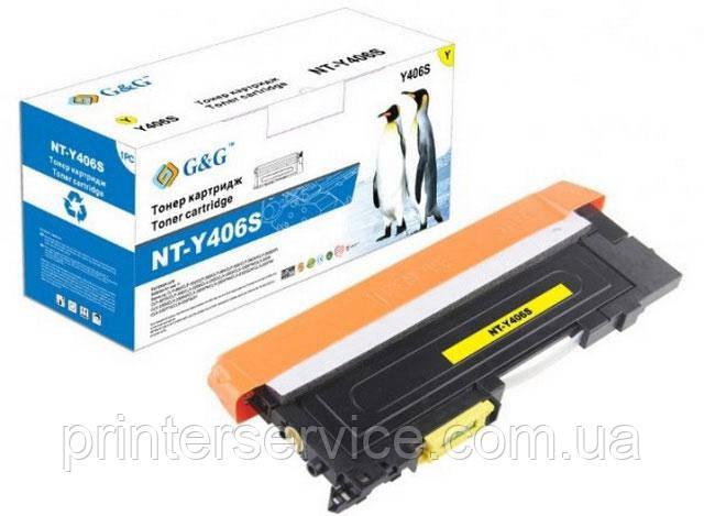 картридж G&G NT-Y406S (аналог CLT-Y406S)