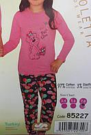 Пижама детская трикотаж Турция для девочки, фото 1