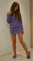 Домашнее платье из флиса + тапочки