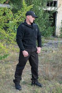 """Брюки тактические """"Outdoor М65""""  черные 100%х\б (палатка)"""