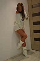 Домашняя пижама с шортиками + сапожки