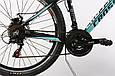 """Подростковый велосипед ARDIS CLEO MTB 24"""",13""""  Черный/Голубой, фото 4"""