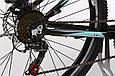 """Подростковый велосипед ARDIS CLEO MTB 24"""",13""""  Черный/Голубой, фото 5"""