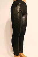 Стрейчевые черные зимние брюки на утеплители для девочек от 3 до 8 лет (98-128см). Фирма-Niebieski Польша.