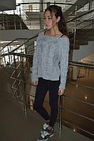 Вязаный свитер АСИМЕТРИЯ Италия, фото 1