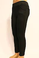 Модные черные зимние брюки на утеплители для девочек от 3 до 8 лет (98-128см). Фирма-Niebieski Польша.
