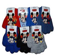 Детские перчатки для мальчиков оптом, DISNEY, 3-8 рр., Арт.НО4278