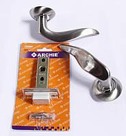 Ручка на круглой основе Archie  + защёлка 45мм