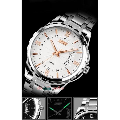 Мужские наручные часы SKMEI 9069 золотистый
