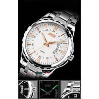 Мужские наручные часы SKMEI 9069 золотистый, фото 1