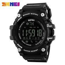 Мужские наручные часы SKMEI 1227 smart watch черные