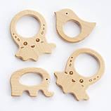 """Подарочный набор для мамы и малыша: слингобусы и грызунок Ярмирина """"Маргаритки"""" бук, фото 4"""