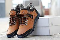 Мужские кожаные зимние ботинки Columbia (3223)