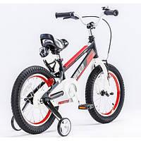 Детский велосипед Royal Baby 16 Space No.1 Alloy BMX черный