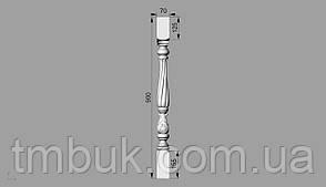 Балясина 26   - 900х70х70 мм, фото 2