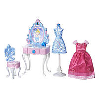 Игровой набор мебели и аксессуаров для Золушки Disney Princess Cinderella's Enchanted Vanity Set! Оригинал!