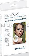 Глянцевая фотобумага emotion premium photo paper a6 230g 50 шт glossy (230g/m2/a6 50 pack)