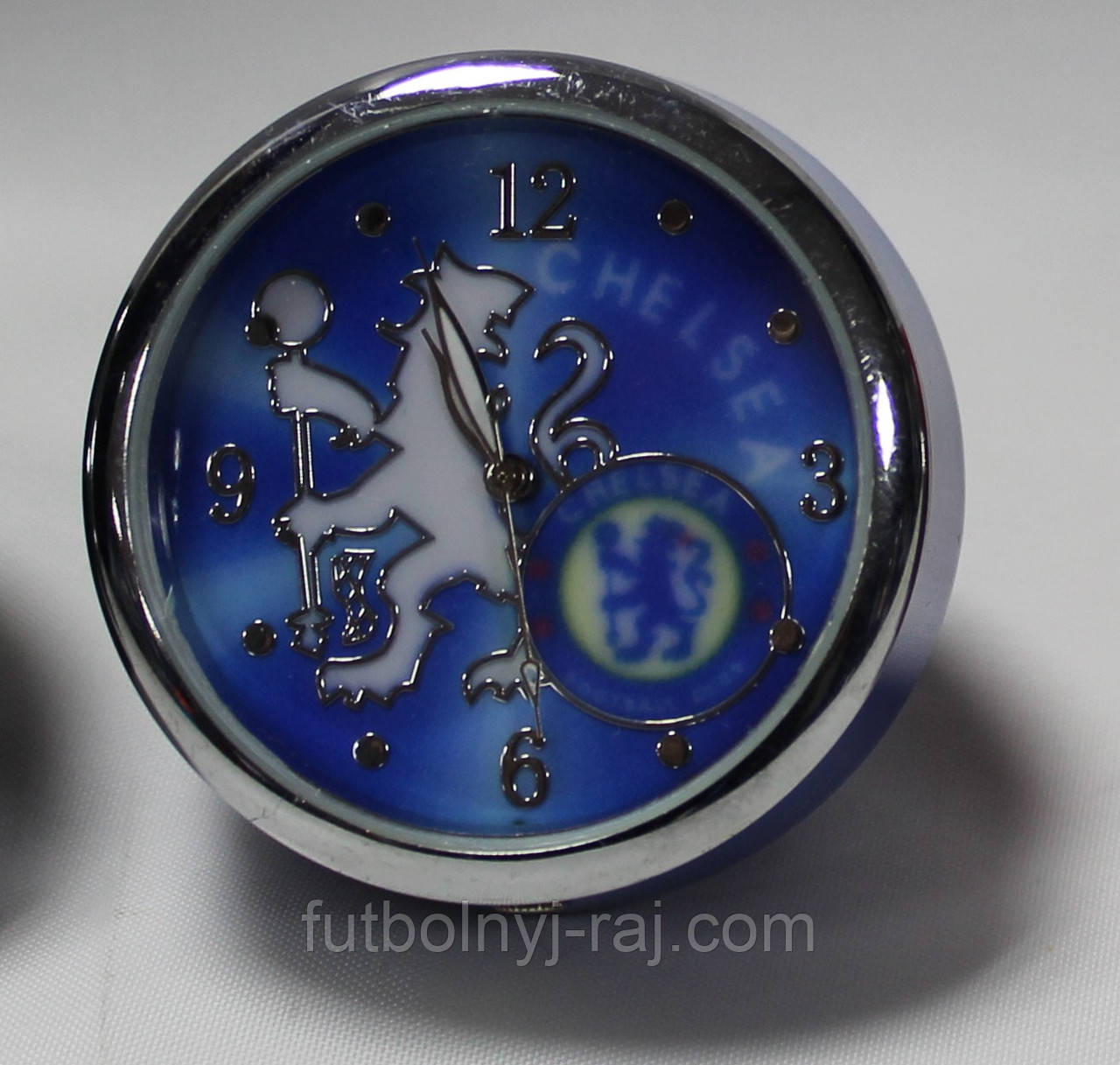 Годинники настільні круглі з символікою FC Chelsea