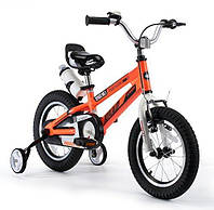Детский велосипед Royal Baby 18 Space No.1 Alloy BMX оранжевый, фото 1