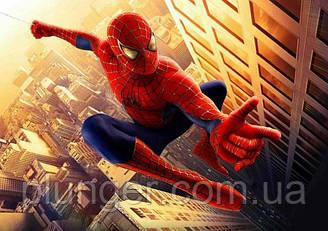 "Вафельна картинка для кондитерских виробів ""Людина-Павук"", (лист А4)"