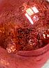 """Дизайнерская Led Лампа  G125-8S8W  E27  Half Red Silver  - Интернет-магазин """"УЮТ-МАРКЕТ""""   в Одессе"""
