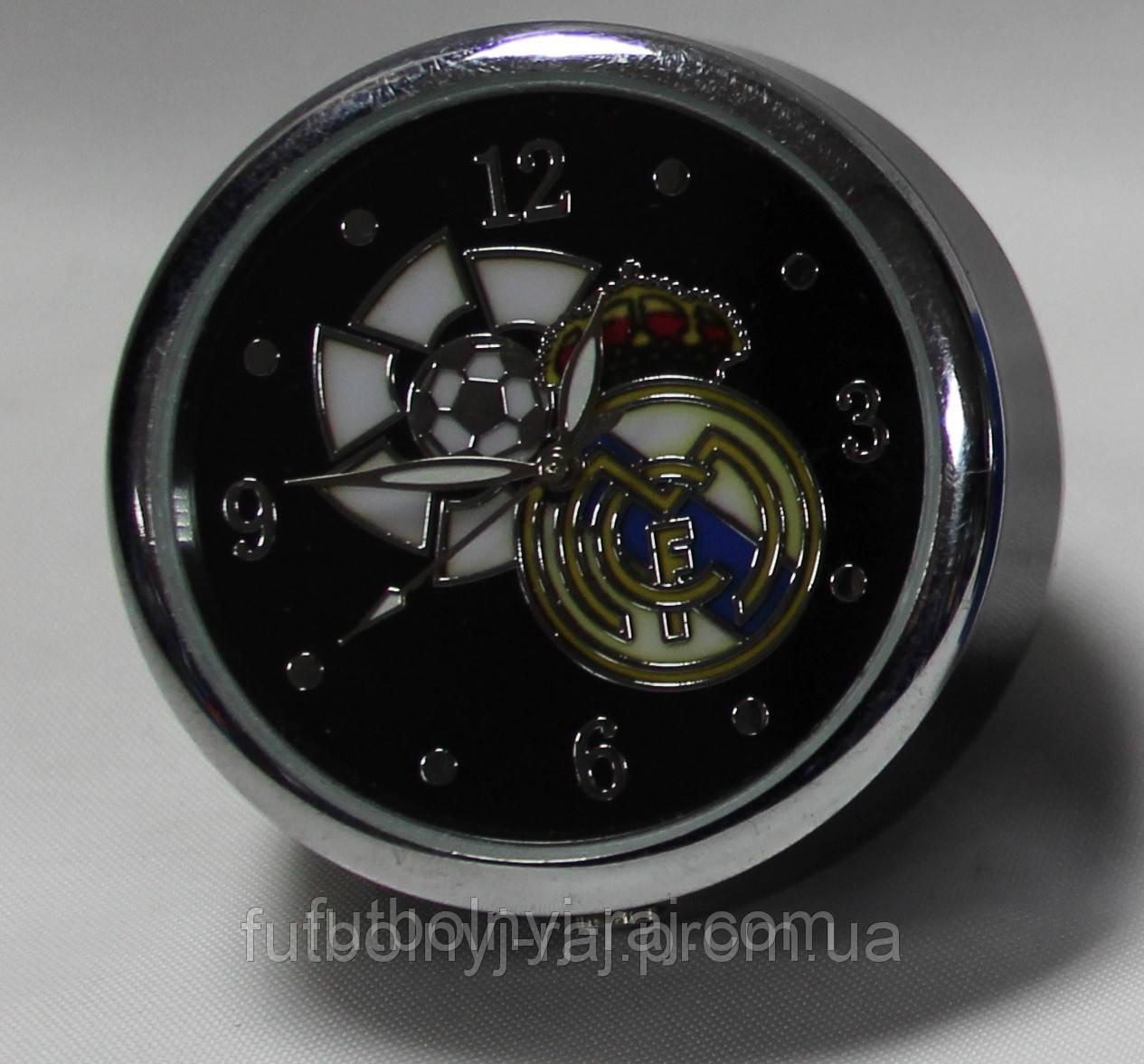 Годинники настільні круглі з символікою FC Real