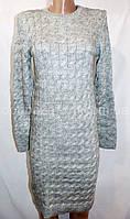 Женское платье, вязка (46-52, норма) — купить оптом недорого в одессе 7км