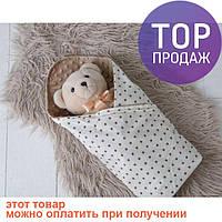 Плюшевый плед Minky с хлопком  / товары для детей