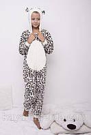 Детская пижама кигуруми р.122,128.134 махра -плюш 1448мрж, В наличии