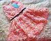 Нарядные платье 3Д розы для девочки на 1-2 года, фото 2
