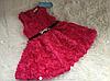Нарядные платье 3Д розы для девочки на 1-2 года, фото 5